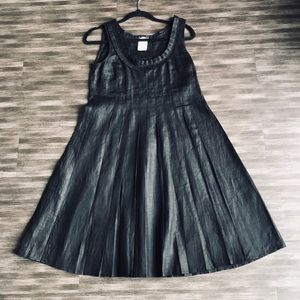 NWOT MaxMara Weekend Line Pleated Linen Dress